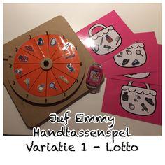 Juf Emmy ❤️ Handtassenspel variaties 1/3 Mamas And Papas, Pre School, Homeschool, Presents, Game 1, Grammar, Kids, Wood Games, Ideas