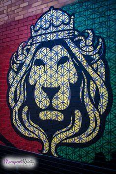 Check out this item in my Etsy shop https://www.etsy.com/listing/231922309/rasta-lion-graffiti-street-art-city