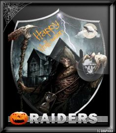 Happy Halloween raidernation