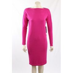 This Ralph Lauren stunning pink Merino wool, long Sleeves sweaterdress has just got in. The dress has a boat neckline and the merino wool knit has a light stretch to it. Casual Dresses, Dresses For Work, Premium Brands, Merino Wool, Size 14, Ralph Lauren, Neckline, Boat, Knitting