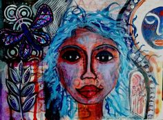 Buy Transformation, Mixed Media painting by mimulux patricia no on Artfinder. Discover thousands of other original paintings, prints, sculptures and photography from independent artists. Paintings For Sale, Original Paintings, India Ink, Mixed Media Painting, Gouache, Dark Art, Sculptures, Artists, Fine Art
