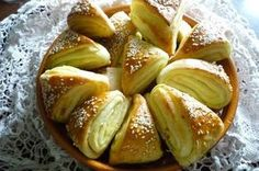 Photo Hungarian Recipes, Bread And Pastries, Holiday Dinner, Bread Recipes, Bakery, Food And Drink, Snacks, Eat, Cooking