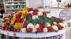 Elegantes y coloridas verduras!