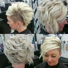 undercut hairstyles for women Shaved mermaid bob