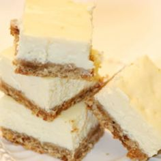 This is a favorite cheesecake bar recipe. One that you can prepare and have a variety of toppings that your guest can build their own cheesecake. Toppings such as nuts, chocolate, carmel sauce, strawberry sauce, ice cream topping, whip cream etc. **RS: Pillsbury