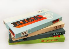 HOST GIFT: Classic Board games, especially vintage ones fill guests with memories, make new ones for others, and the packaging is decorative on a shelf/coffee table.