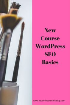 Are you ready to have your artist blog optimized for the search engines? This new course Wordpress Seo Basics is exactly what you need.