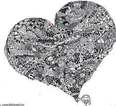 Doodle hearts | Doodle Heart by ~jammer8162 on deviantART