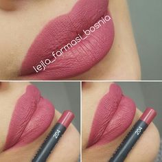 lejla_farmasi_bosnia #one #more #lippencil #best #colors #matte #halalcertified #farmasi #havetoloveit #beauty #makeup