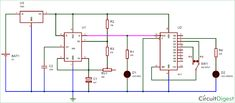 Frequency Divider Circuit diagram