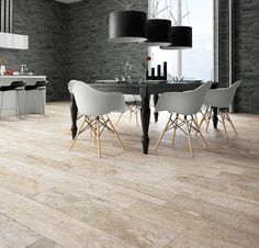 A modern and contemporary proposal with Stonewood series, a very innovative collection that amazingly combines and textures. Dining Chairs, Dining Table, Bar, Contemporary, Modern, Latest Trends, Tiles, Interior Design, Wood