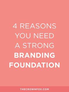 TheCrownFox | www.TheCrownFox.com | Branding + Design | Branding Foundation