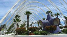Santiago Calatrava || Umbracle, Ciudad de las Artes y las Ciencias (Valencia, España)