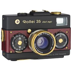 Rollei 35 black magic red gold [ローライ35 Vintage ヴィンテージバージョン]【無料配達】