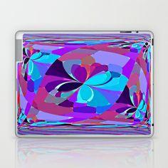 Re-Created ButterfliesXXII  #Laptop & #iPad #Skin by #Robert #S. #Lee - $25.00