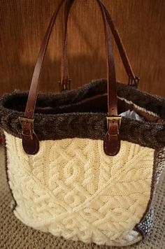 Plein Air Tote pattern by Amanda Scheuzger