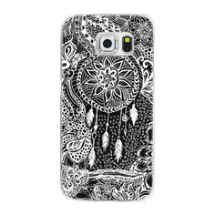 Samsung Galaxy / LG / HTC / Nexus Phone Case - Modern black white... ($40) ❤ liked on Polyvore featuring accessories, tech accessories and android case