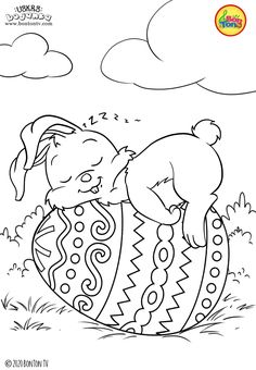 Easter İdeas 667799450985076133 - Easter coloring pages – Uskrs bojanke za djecu – Free printables, Easter bunny, eggs, chicks and more on BonTon TV – Coloring books Source by meletlestwinous Free Easter Coloring Pages, Easter Bunny Colouring, Easter Egg Coloring Pages, Spring Coloring Pages, Cute Coloring Pages, Christmas Coloring Pages, Free Printable Coloring Pages, Coloring Books, Free Printables