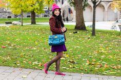 Autumn Colourblocking - #Outfit post from Toronto Blogger Jocelyn Caithness   #KateSpade