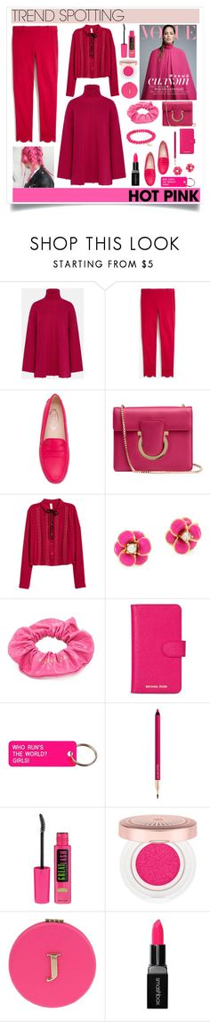 """""""Senza titolo #7091"""" by waikiki24 ❤ liked on Polyvore featuring STELLA McCARTNEY, Tod's, Salvatore Ferragamo, Kate Spade, Balenciaga, Michael Kors, Various Projects, Lancôme, Maybelline and Miss Selfridge"""