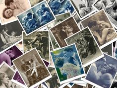 Vintage Couples Collage
