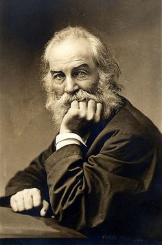 Walt Whitman, poet and author of  Leaves of Grass
