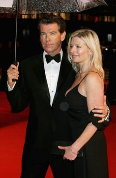 Pierce Brosnan,an his beautiful daughter who passed away today R.I.P. Very sad 2/7/13