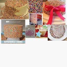 Daddy Cool!: Βασικά βήματα για να φτιάξετε παιδικές τούρτες γενεθλίων! Sprinkles, Straw Bag, Cool Stuff, Cake, Diy, Cool Things, Pie Cake, Bricolage, Cakes