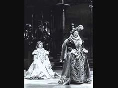 Maria Stuarda by Donizetti New York City Opera Chorus and Orchestra Beverly Sills, soprano Charles Wilson, conductor March 1972 In house recording Beverly Sills, Mary Queen Of Scots, Elizabeth I, Queen Of England, Classical Music, Tudor, Finals, Diva, Opera