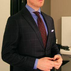 Mittatilauspuku: Lopputulos ja kuvia - Ohituskaistalla Suit Jacket, Blazer, Suits, Jackets, Men, Fashion, Down Jackets, Moda, Outfits
