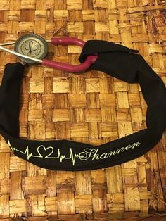 A personal favorite from my Etsy shop https://www.etsy.com/listing/263944413/custom-embroidered-stethoscope-cover