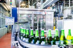 Steam Whistle #Pilsner getting prepare by our #Krones #machines #beer #brewing #bottle #craftbeer