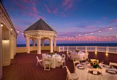 roof top weddings in fl | Rooftop terrace at the Pelican Grand Beach ... | florida beachside we ...