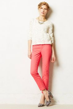 Ankle Zip Charlie Trousers - anthropologie.com