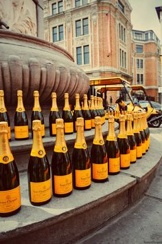 France...Cliquot In Line. We drank 3 bottles of this on our Viking cruise:)