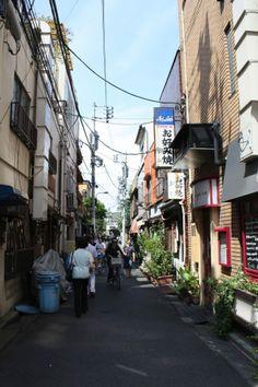 Tokyo - quartier Yostuya (rue)