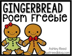 I wrote this poem to use with my students' Gingerbread Men for the Gingerbread Exchange.  Feel free to use this poem in your classroom as well!  ENJOY.If you appreciate this product, please kindly leave feedback.  God bless!