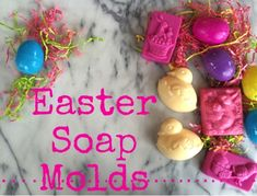 Bulk's Easter Soap Recipe uses a melt and pour base, your favorite spring fragrance, and an adorable Easter-themed mold. Soap Making Recipes, Homemade Soap Recipes, Soap Molds, Home Made Soap, Handmade Soaps, Scented Candles, Diy Gifts, Christmas Bulbs, Holiday Crafts
