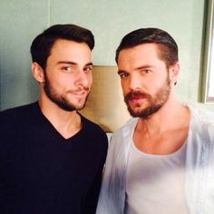 How to get away with Murder . Jack Falahee and Charlie Weber as Connor and Frank Charlie Weber, I Miss You Guys, Jack Falahee, Boys Don't Cry, Studios, Scruffy Men, How To Get Away, Dream Guy, Attractive Men