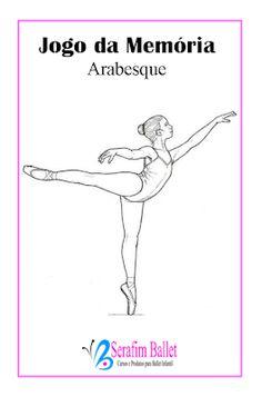 Serafim Ballet: Jogo da Memória com Tema Ballet (material para aula) Baby Ballet, Ballet Kids, Ballet Dancers, Cool Dance, Jazz Dance, Dance Wear, Isadora Duncan, Arabesque, Dance Pictures