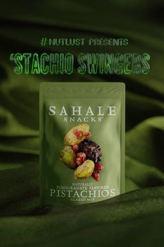 Our Pomegranate Pistachios Glazed Mix teases your tastebuds with a fling of Moroccan spice. It's not #FoodPorn, it's #NutLust. #SahaleSnacks Vegan Gluten Free Breakfast, Vegan Breakfast Recipes, High Protein Snacks, Vegan Snacks, Low Carb Recipes, New Recipes, Moroccan Spices, Snack Mix Recipes, Thing 1