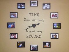 Wall clock we just did. The most expensive part was the clock motor.