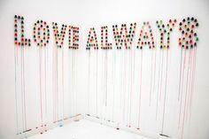 love always,why not, pinned by Ton van der Veer
