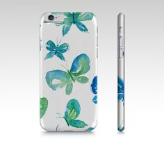 360ab34637e Items similar to iPhone 8 Plus case - butterfly gifts - iPhone 6s case - Samsung  Galaxy edge - blue butterflies - Galaxy s6 edge, iPhone 7 cover on Etsy