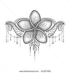 Image result for female polynesian tattoo plumeria