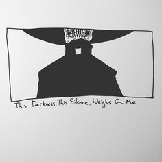 This Darkness, This Silence, Weighs On Me.