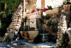 Tourtour fountain by CatChanel, via Flickr