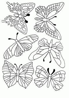 Schmetterling Malvorlagen