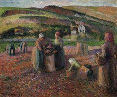 Camille Pissarro - The Harvest, 1893