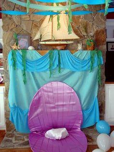 Little Mermaid Party Ideas   Birthday Party Blog: Under the Sea / Little Mermaid Party